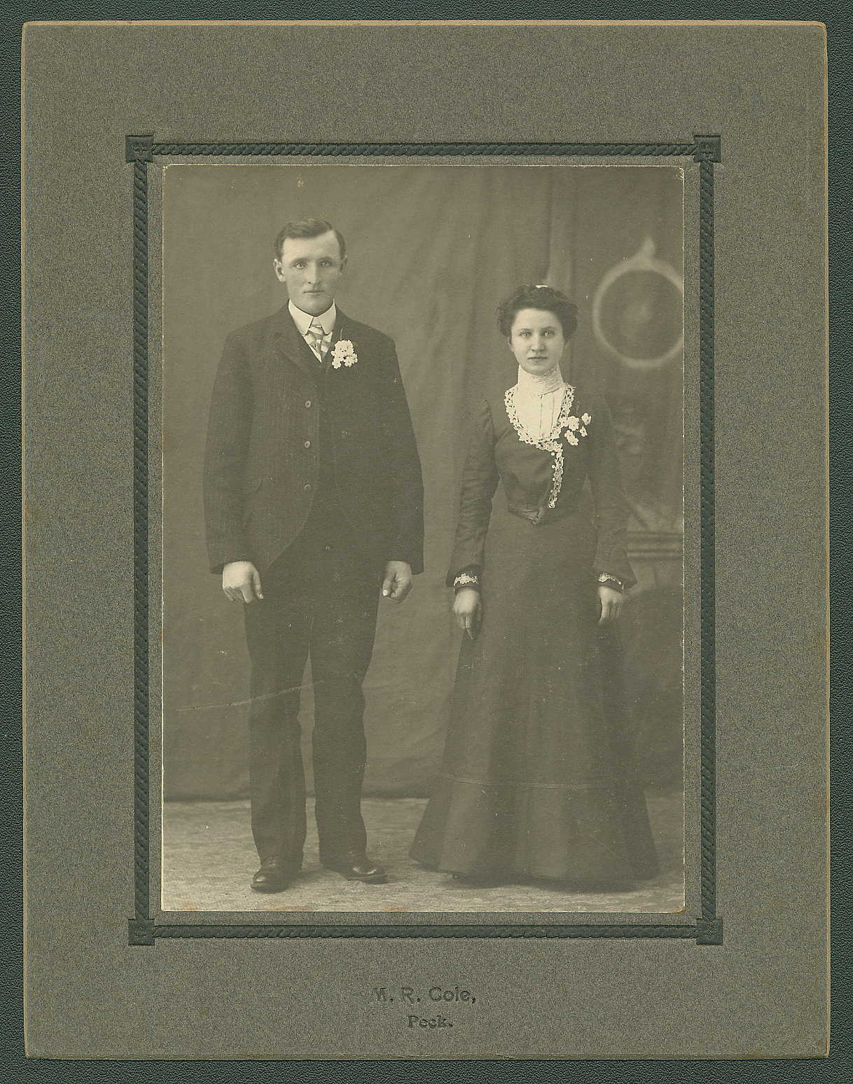descendants of david kluessendorf aqw htm marriage photo of henry and minnie bohn johnston